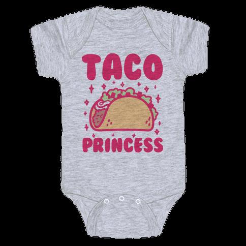 Taco Princess Baby Onesy