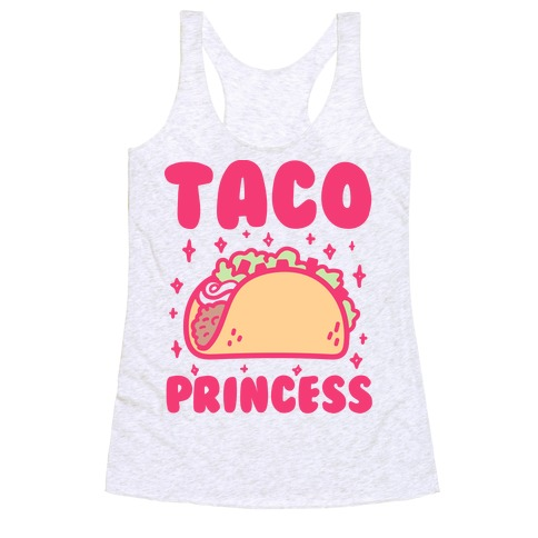 Taco Princess Racerback Tank Top