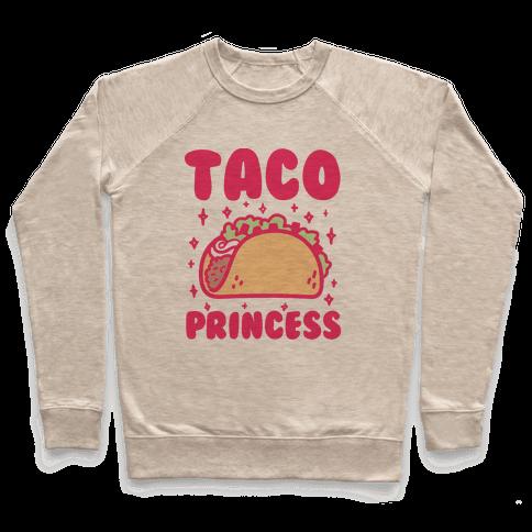 Taco Princess Pullover
