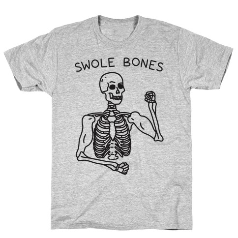 Swole Bones Skeleton T-Shirt
