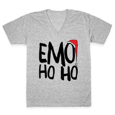Emo Ho Ho V-Neck Tee Shirt