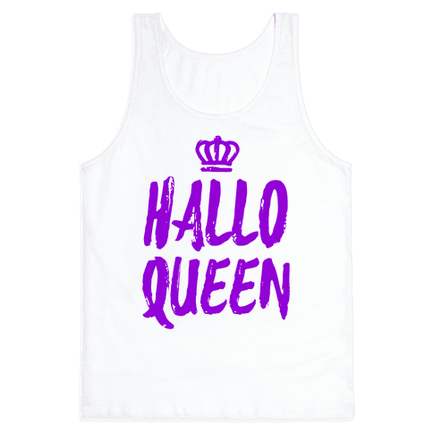 Hallo Queen Tank Top