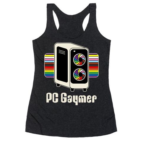 PC Gaymer Racerback Tank Top