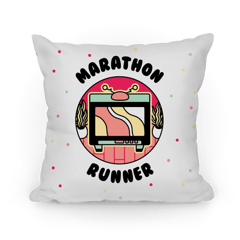 (TV) Marathon Runner  Pillow