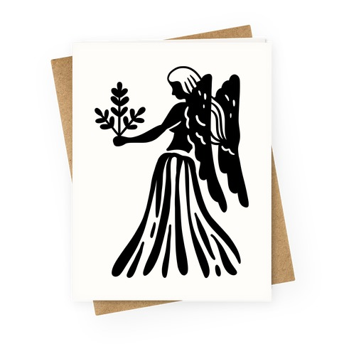 Zodiacs Of The Hidden Temple - Virgo Maidens Greeting Card