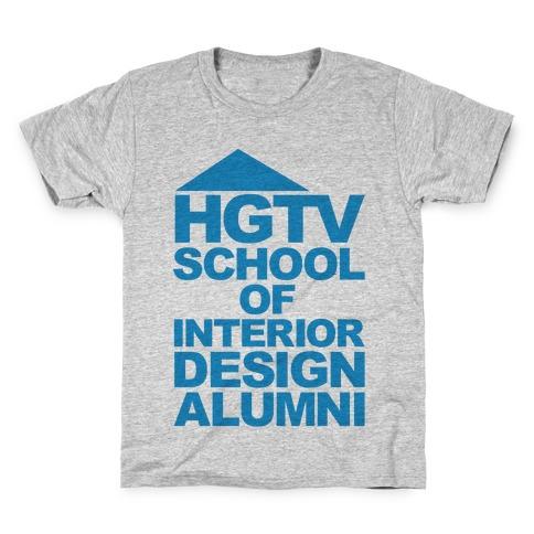 HGTV School of Interior Design Parody Kids T-Shirt