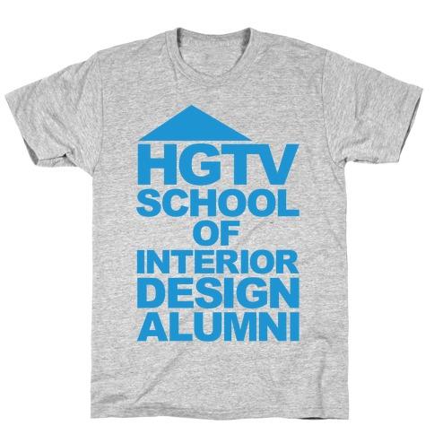 HGTV School of Interior Design Parody T-Shirt