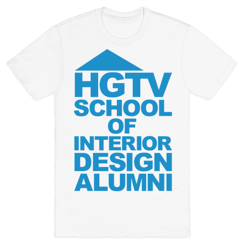 HGTV School of Interior Design Parody Mens T-Shirt