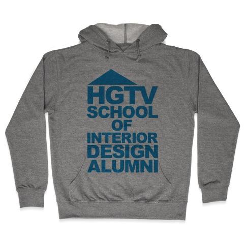 HGTV School of Interior Design Parody Hooded Sweatshirt