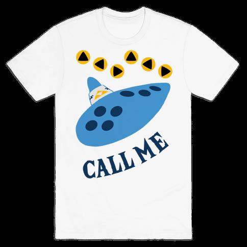 Call Me Zelda Ocarina Mens T-Shirt