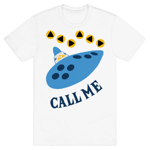 Call Me Zelda Ocarina Mens T-Shirt