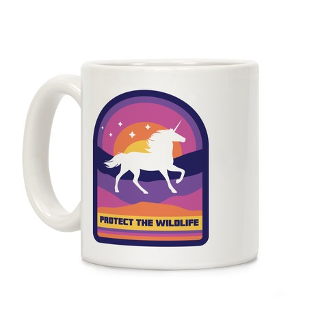 Protect The Wildlife (Unicorn) Coffee Mug