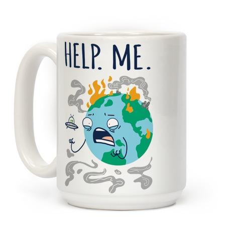 Help. Me. Coffee Mug
