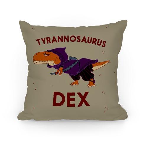 Tyrannosaurus Dex Pillow