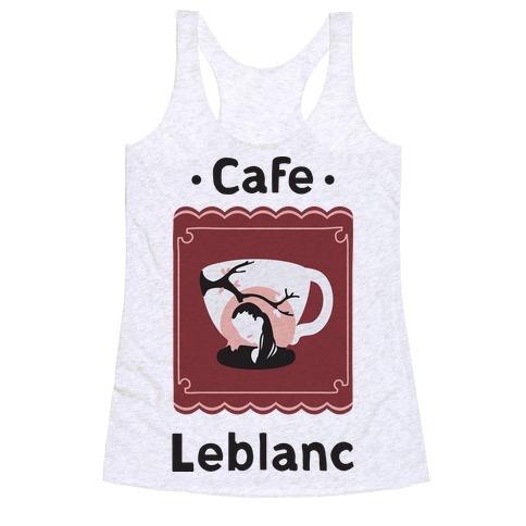 Cafe Leblanc Racerback Tank Top