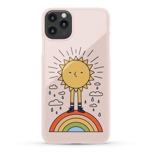 Solar Power Rainbow Phone Case