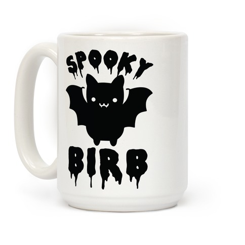 Spooky Birb Bat Coffee Mug