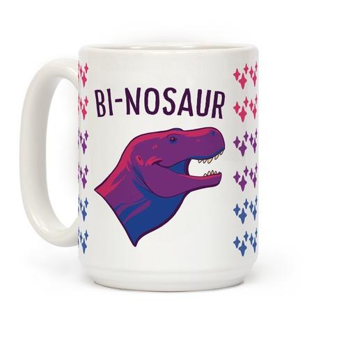 Bi-nosaur Coffee Mug