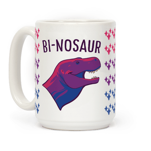 Bi-nosaur Coffee Mug