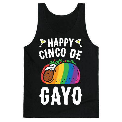 Happy Cinco De Gayo Tank Top