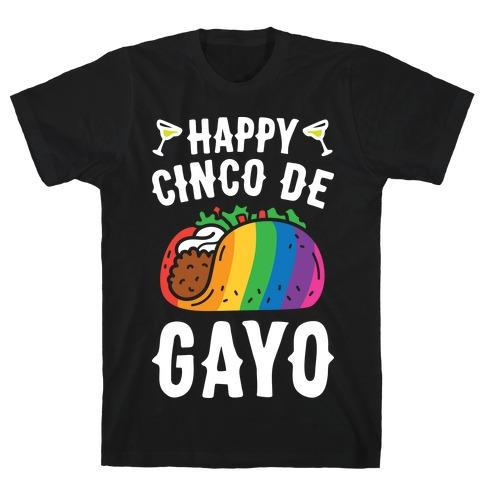 Happy Cinco De Gayo T-Shirt