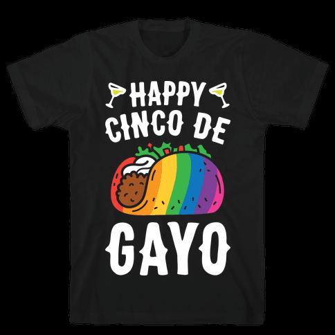 Happy Cinco De Gayo Mens T-Shirt