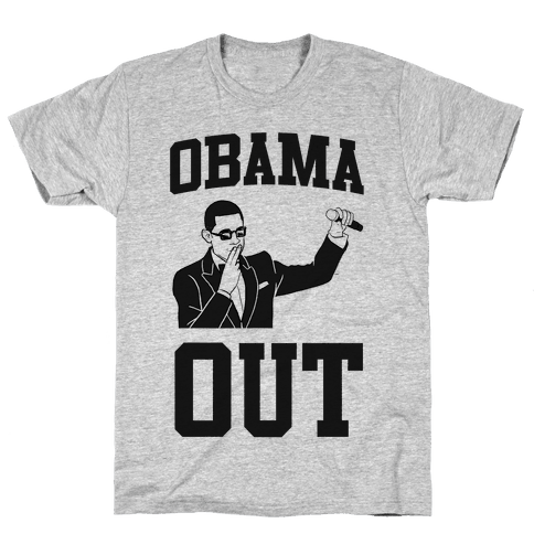 Obama Out Mens T-Shirt