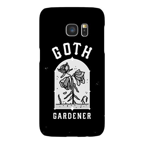 Goth Gardener Phone Case