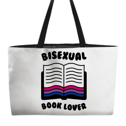 Bisexual Book Lover Weekender Tote
