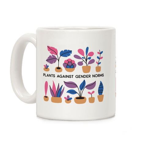 Plants Against Gender Norms Coffee Mug