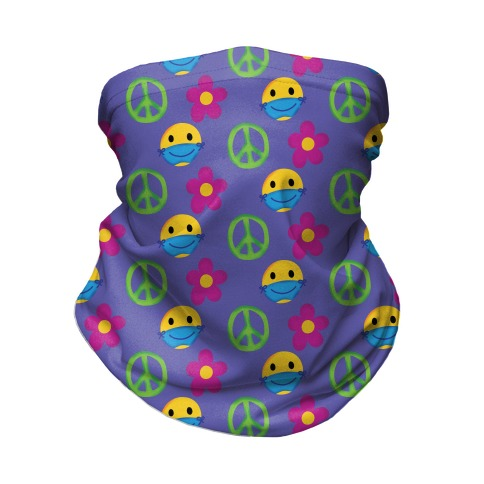 Be Groovy, Wear A Mask Neck Gaiter