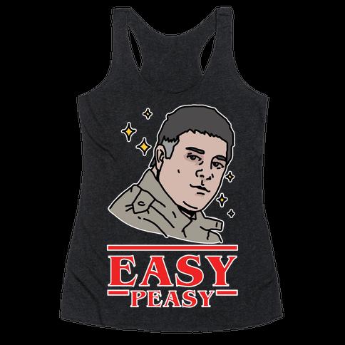 Easy Peasy Racerback Tank Top