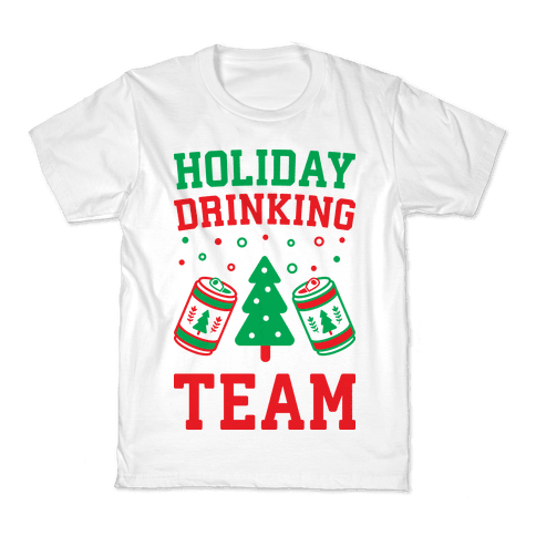 Holiday Drinking Team Kids T-Shirt