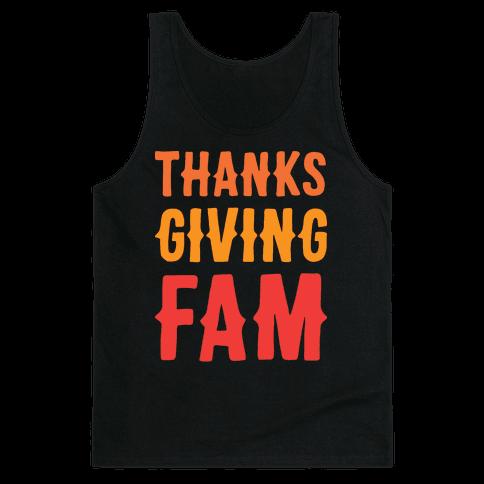 Thanksgiving Fam Tank Top
