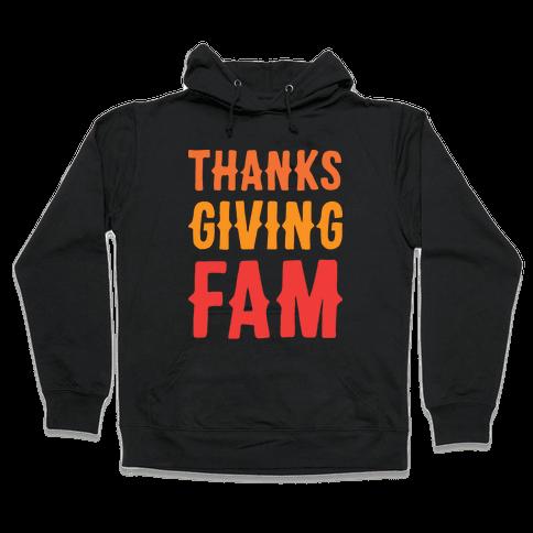 Thanksgiving Fam Hooded Sweatshirt