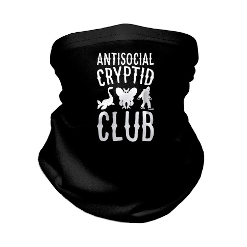 Antisocial Cryptid Club Neck Gaiter