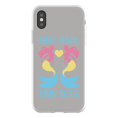 Mer-Made This Way - Pan Phone Flexi-Case