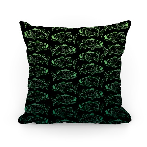 Gradient Bass Pattern Pillow