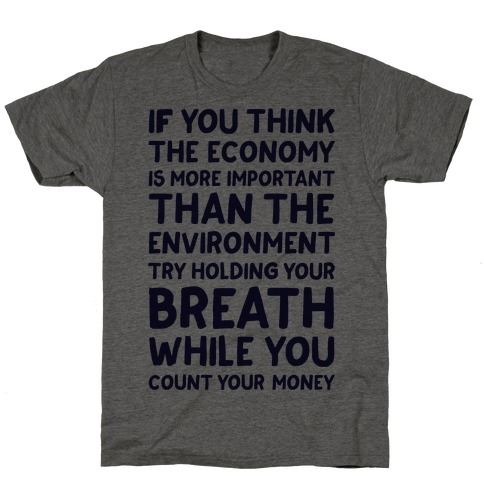 Try Holding Your Breath T-Shirt