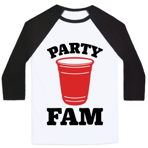 Party Fam Baseball Tee
