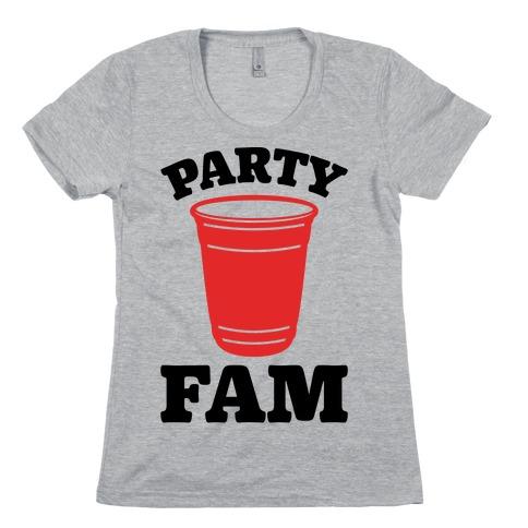 Party Fam Womens T-Shirt