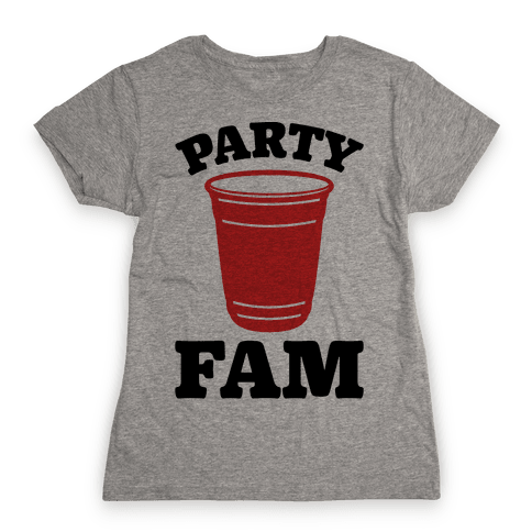 Party Fam Womens T-Shirt