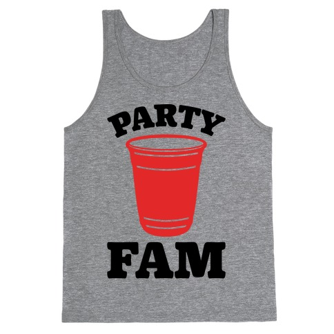 Party Fam Tank Top