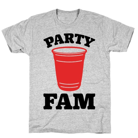 Party Fam Mens T-Shirt