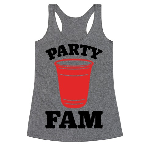 Party Fam Racerback Tank Top