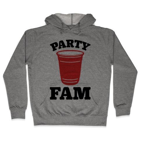 Party Fam Hooded Sweatshirt