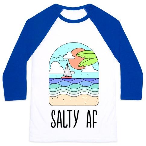 Salty AF Baseball Tee