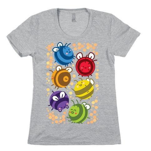 Orb Bees Womens T-Shirt