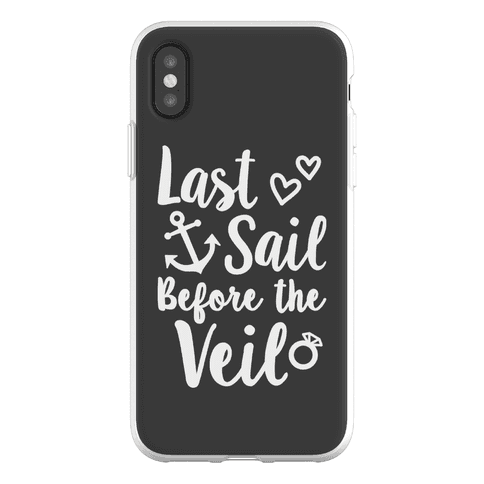 Last Sail Before The Veil Phone Flexi-Case