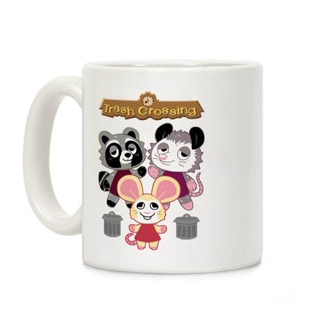 Trash Crossing Coffee Mug